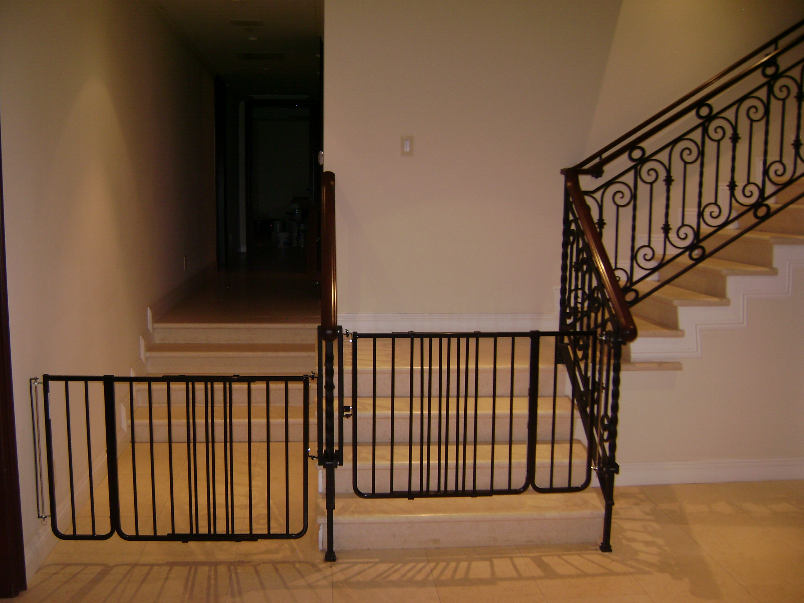Keep Stair Gates Closed At All Times When Small Children Are In The Home We Get Sidetracked And Forget Easily So Just Close It